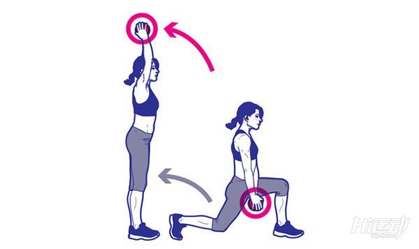 1个哑铃8个动作锻炼全身肌肉!不用再跑健身房了 - 图片4