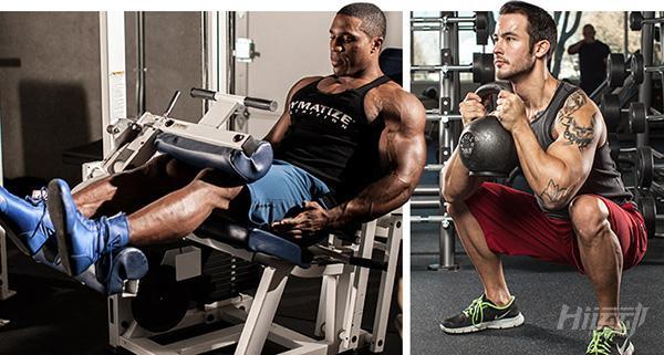 健身效果差,就是没练腿!2套腿部训练计划:初级与高级 - 图片3