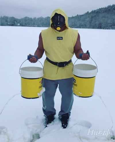 健身器械自己造:废铜烂铁加冰块,冬季健身燥起来! - 图片26