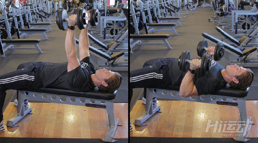 不想去健身房 6个哑铃动作练成肌肉男 - 图片2