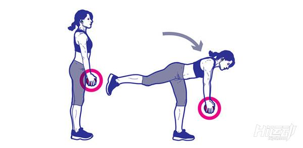 1个哑铃8个动作锻炼全身肌肉!不用再跑健身房了 - 图片7