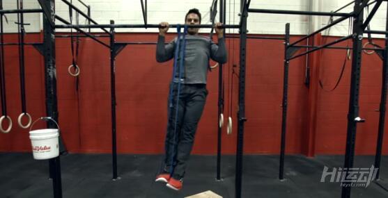 教你做一个完美的引体向上 锻炼背部 - 图片3