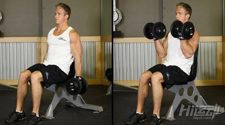 不想去健身房 6个哑铃动作练成肌肉男 - 图片3