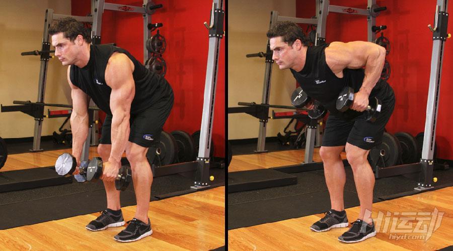 不想去健身房 6个哑铃动作练成肌肉男 - 图片7