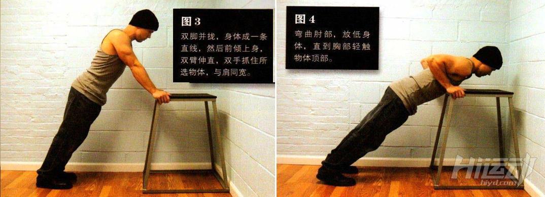 囚徒健身之俯卧撑教学 锻炼你的胸肌 - 图片2