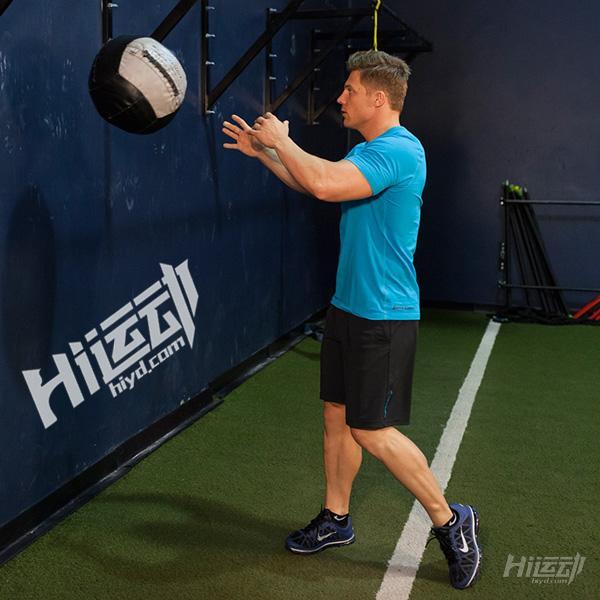 健身药球 全身训练动作图解 - 图片4
