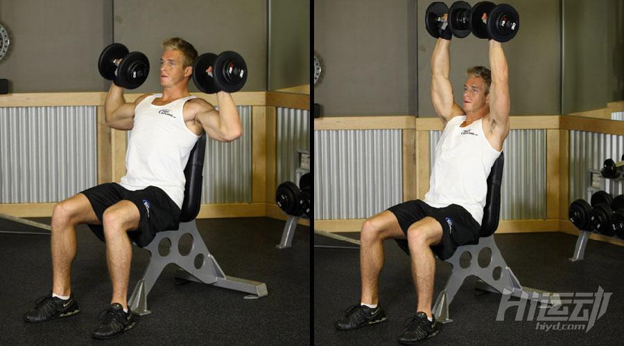 不想去健身房 6个哑铃动作练成肌肉男 - 图片5