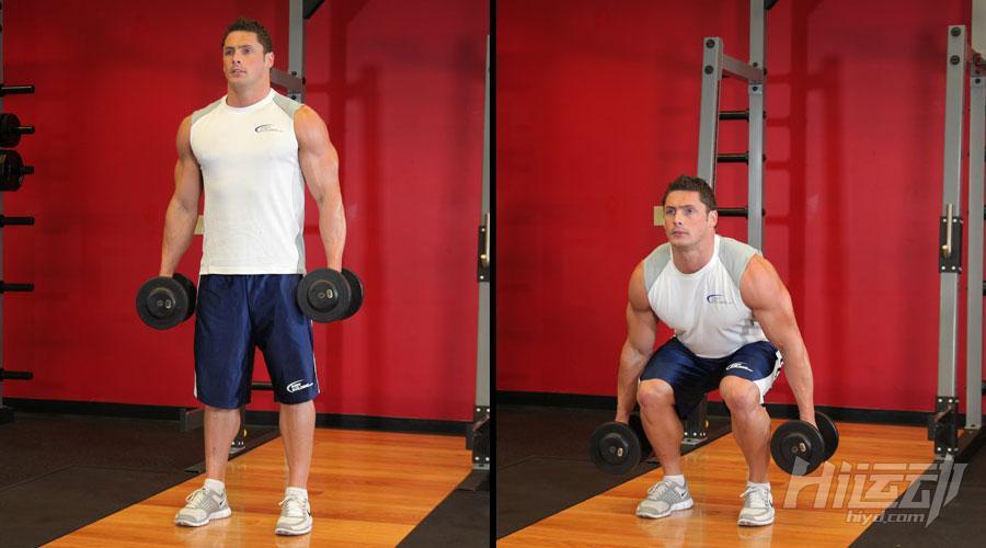 不想去健身房 6个哑铃动作练成肌肉男 - 图片4