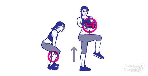 1个哑铃8个动作锻炼全身肌肉!不用再跑健身房了 - 图片5