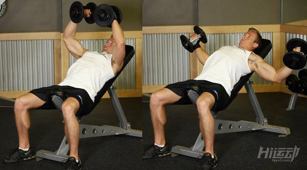 3个动作搞定上胸肌 薄弱的上胸这样练 - 图片5