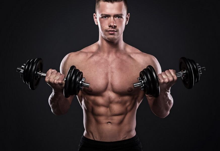全身肌肉训练 8个动作和一副哑铃就够了 - 图片1