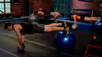 P90X2全套视频课程08:胸肌、后背和平衡