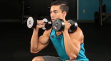 哑铃肩部肌肉强化训练-初级(4练/周)