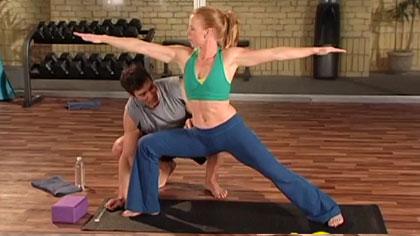 10分鐘健身訓練視頻02:瑜伽伸展