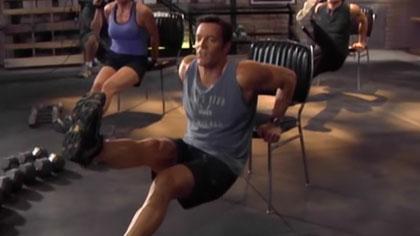 P90X全套中文视频09:胸肌与肩部锻炼、腹肌撕裂者X