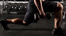 啞鈴腿部肌肉強化訓練-新手(2練/周)