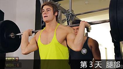 【中文字幕】健體明星杰夫·賽德5天訓練課程 - 第3天 腿部