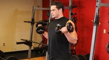 哑铃肱二头肌强化训练-初级(5练/周)