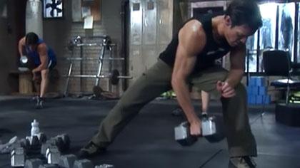 P90X全套中文視頻10:背部與二頭肌鍛煉、腹肌撕裂者X