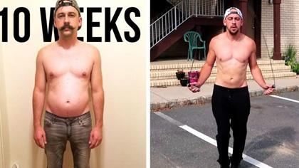 又想骗你买跳绳?大叔一周5次跳绳,10周后减了5公斤