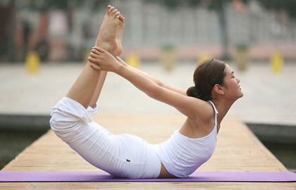 减肥的最好辅助 瑜伽塑型练肌肉