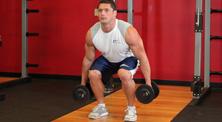 哑铃腿部肌肉强化训练-中级(2练/周)