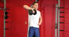 哑铃肩部肌肉强化训练-中级(4练/周)