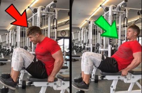 健身房很多人会做的一个腹部动作,可惜的是很少有人做对!