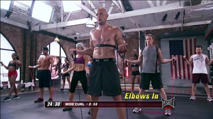 TapouT XT課程視頻D01:上半身訓練