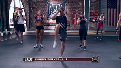TapouT XT课程视频D08:泰拳搏击操