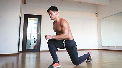 【马来周杰伦】20种不同的身体自重深蹲动作