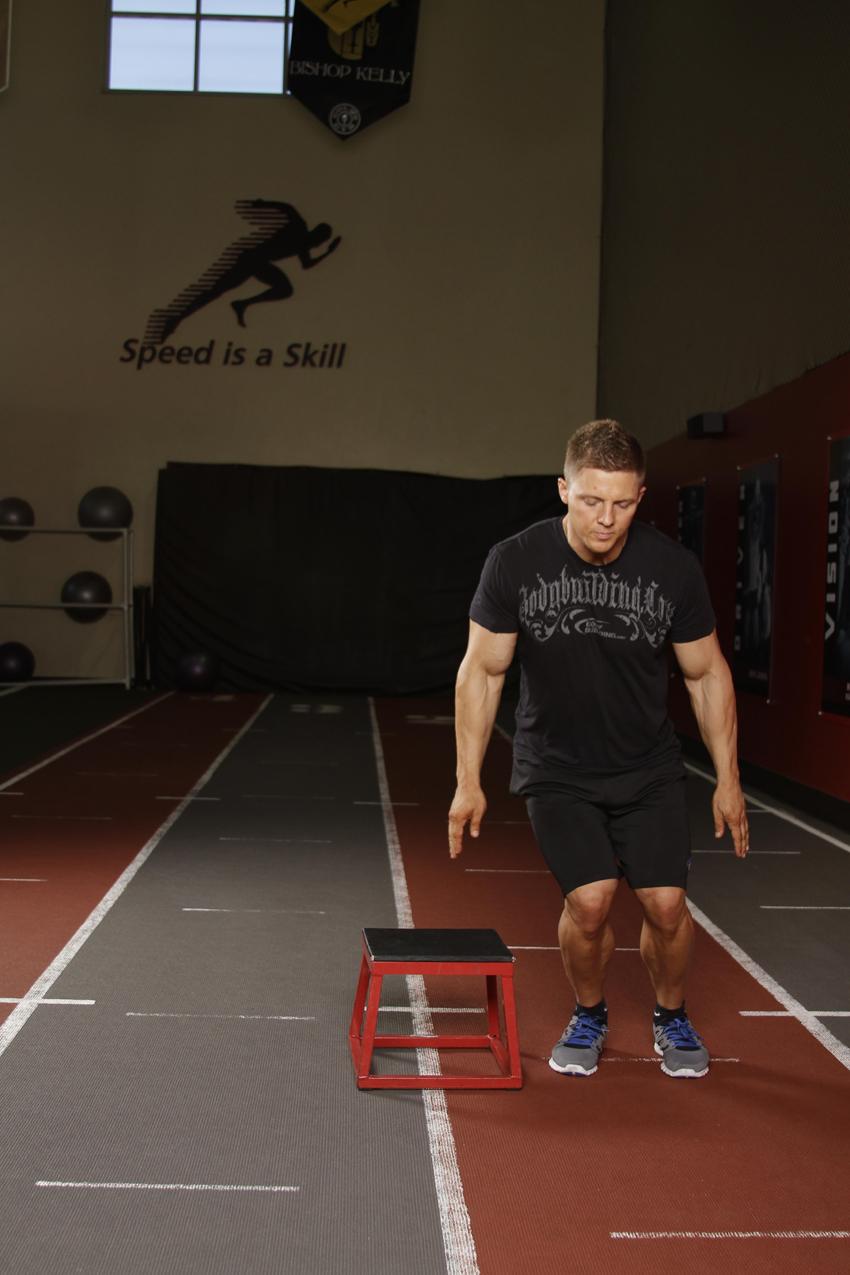 拉伸小腿的动作_侧箱跳正确动作要领_侧箱跳视频GIF图解_Hi运动健身网