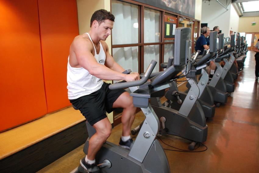 健身脚踏车训练