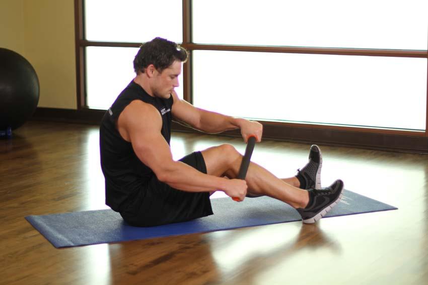胫骨前肌-肌筋膜放松