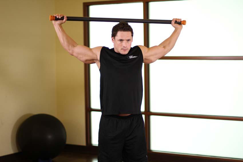 胸部以及前肩拉伸
