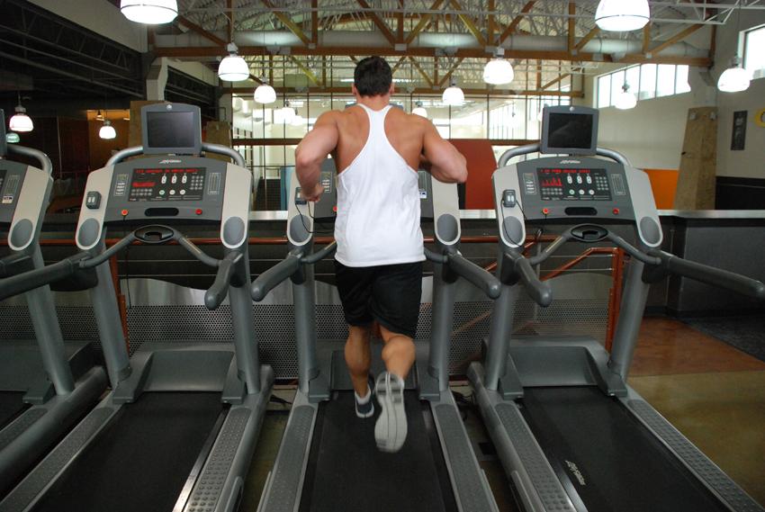 跑步机跑步训练