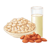 坚果、大豆及制品