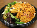 麦当劳 沙拉 (烤鸡肉, 无沙拉酱), 又叫Mcdonald's Premium Southwest Salad with Grilled Chicken