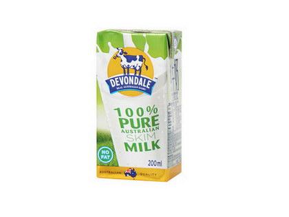 脱脂牛奶, 又叫脱脂牛奶