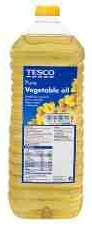 tesco pure vegetable oil, 又叫Tesco纯植物油