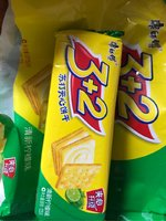 康师傅 3+2苏打夹心饼干(清新柠檬味)