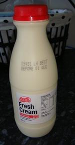 HOMEBRAND鲜奶油, 又叫Home Brand Fresh Cream
