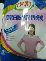 伊利 高蛋白脱脂高钙奶粉