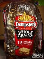 Dempster's whole grains 面包, 又叫全麦面包