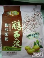 维维醇豆浆甜豆浆粉, 又叫甜豆浆