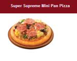 必胜客超级至尊披萨(6寸迷你)