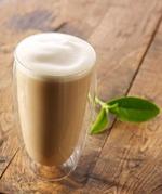 星巴克原叶红茶拿铁(grande), 又叫starbucks full leaf black tea latte