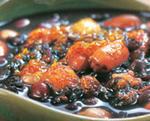 黑米红豆粥, 又叫黑米红豆粥
