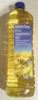 Somerfield纯菜油, 又叫Somerfield Pure Vegetable Oil