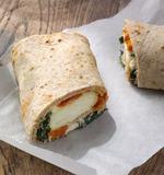 星巴克Spinach Feta Wrap